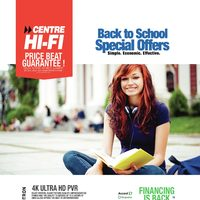 Centre HIFI - Weekly - Back To School Special Offers Flyer