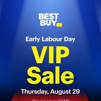 - Early Labour Day - V.I.P. Sale Flyer