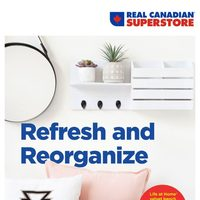 Real Canadian Superstore - Home Decor Book - Refresh & Reorganize Flyer