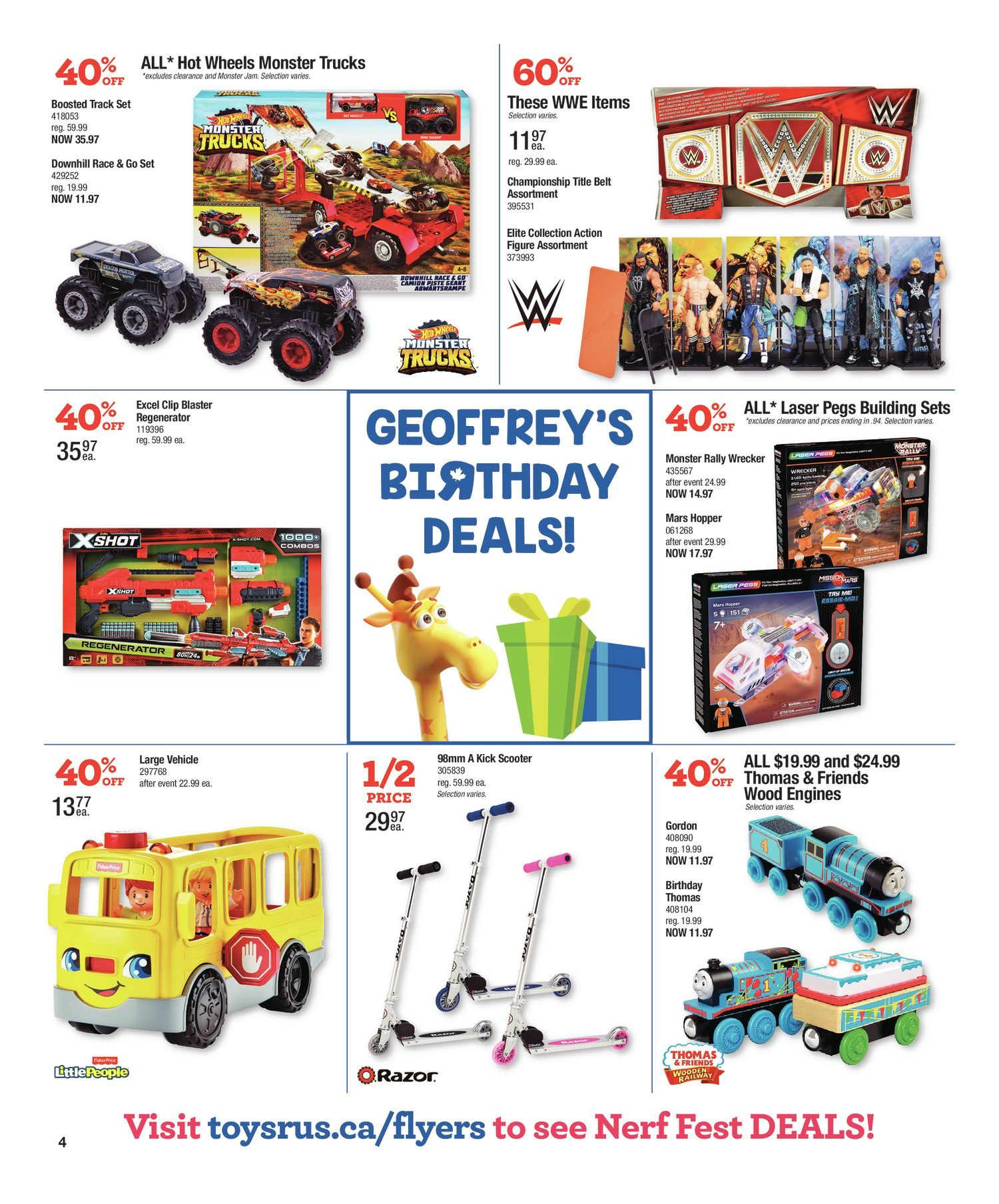 Toys R Us Weekly Flyer - Weekly - Sep 12 – 18 - RedFlagDeals com