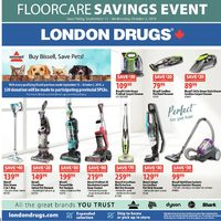 London Drugs - Floorcare Savings Event Flyer