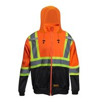 DuraDrive Hi-Vis Jacket With Detachable Hood CSA Z96, Class 2 Level 1