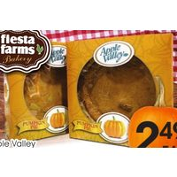 Apple Valley Pumpkin Pie