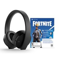 PS4 Gold Wireless Headrest Neo Versa Bundle