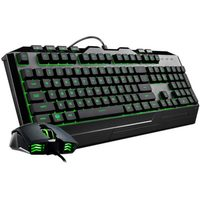 Coolermaster Devastator 3 RGB Mouse and Keyboard Gaming Bundle