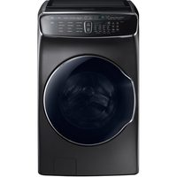 Samsung Flex Wash 6 Cu. Ft. High Efficiency Front-Load Washer (Black Stainless Steel) Primary Washer Only