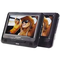 Sylvania Dual Screen Portable DVD Player 9''