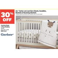 Gerber Counting Sheep 3-Piece Bedding