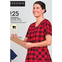 Options Women's Scrub Tops