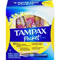 Always Pads, Liners, Tampax Tampons or U By Kotex Pads, Liners or Tampons