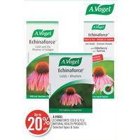A. Vogel Echinaforce Cold & Flu Natural Health Products