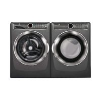 Electrolux 5.1 Cu.Ft. H.E.Washer, 8.0 Cu.Ft. Steam Dryer Laundry Pair