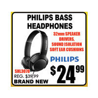 Philips Bass Headphones