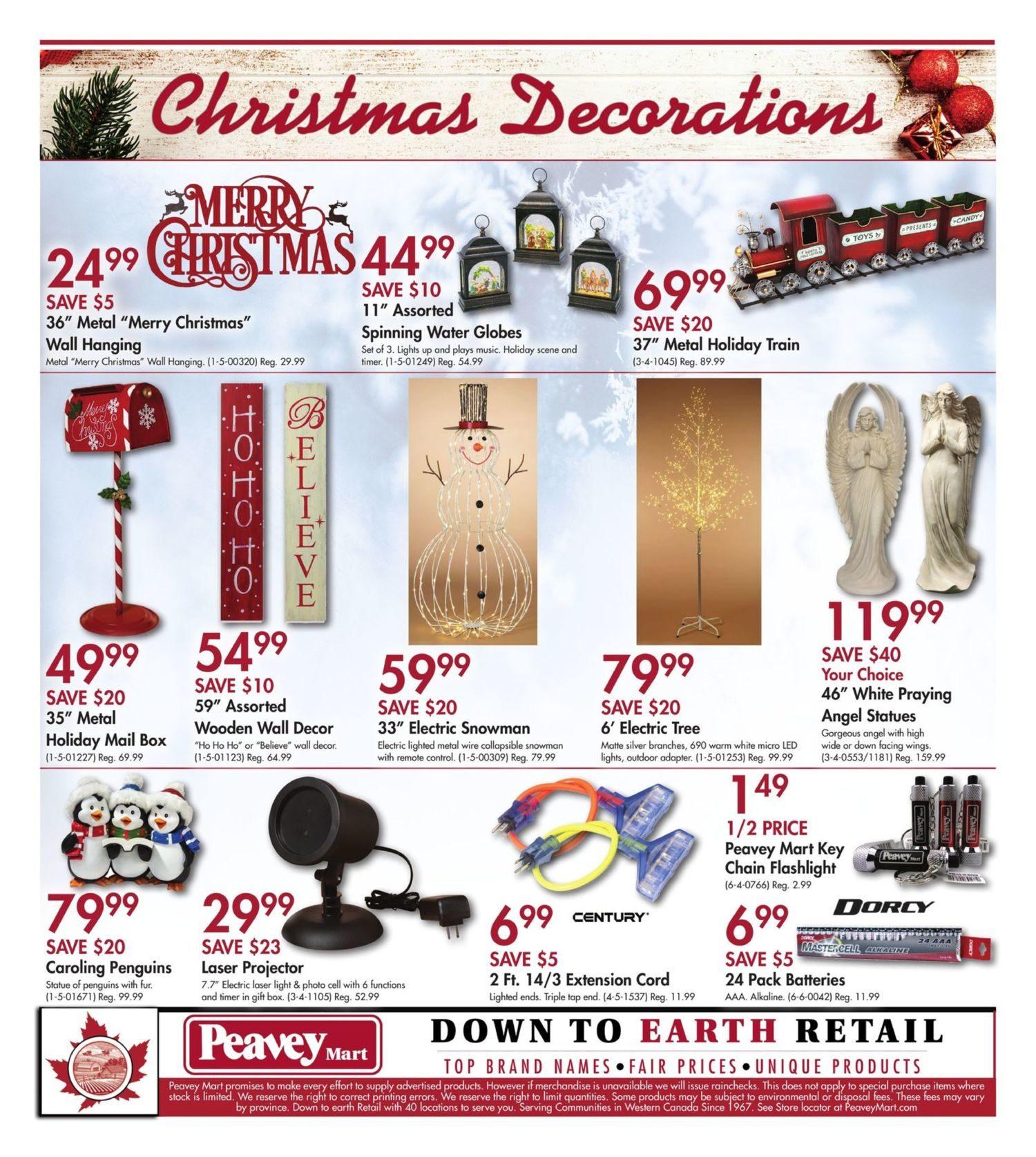 Peaveymart Weekly Flyer Warm Up To Savings Nov 8 17 Redflagdeals Com