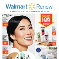 Walmart - Renew Book Flyer