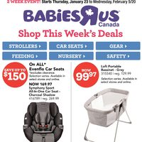 Babies R Us - 2 Week Event! Flyer