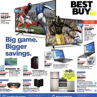 - Weekly - Big Game. Bigger Savings. Flyer