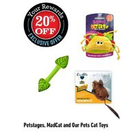 Pestages, Madcat And Our Pets Cat Toys