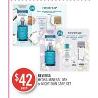 Reversa Hydra-Mineral Day Or Night Skin Care Set