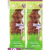 Carnaby Sweet Solid Milk Chocolate Bunny