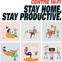 Centre HIFI - Stay Home, Stay Productive. Flyer
