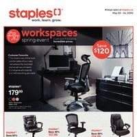 - Weekly - Workspaces Spring Event  Flyer