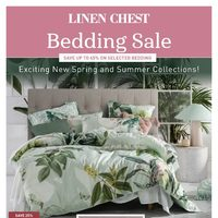 Linen Chest - Bedding Sale Flyer