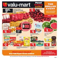 Valu-Mart - Weekly - The Dollar Event Flyer