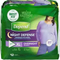 Depend Or Poise Incontinence Underwear Or Pads