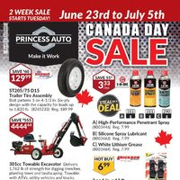 - Canada Day Sale Flyer