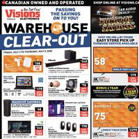 - Weekly - Warehouse Clear-Out Sale Flyer