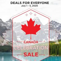 - Deals For Everyone - Canada Celebration Sale Flyer