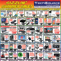 Tech Source - Sizzlin' Summer Sale! Flyer