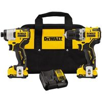 Dewalt Xtreme 12-V Max 2-Piece Brushless Tool Combo With Soft Case
