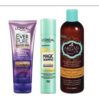 L'oreal Ever Hair Care. Elnett Styling Magic Refresh Dry Shampoo or Hask Hair Care