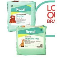Rexall Brand Baby Wipes