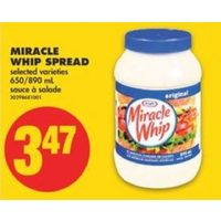 Miracle Whip Spread