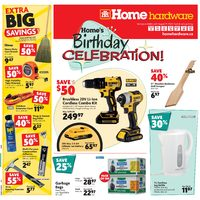 Home Hardware - Weekly - Birthday Celebration Flyer