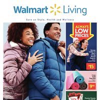 Walmart - Living Book - Save On Style, Health & Wellness Flyer