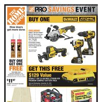 - Weekly - Pro Savings Event Flyer