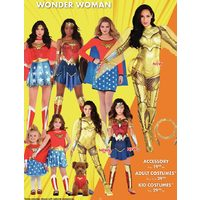 Wonder Woman Costumes and Accessories