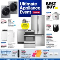 - Weekly - Ultimate Appliance Event Flyer