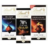 Lindt Excellence or Ghirardelli Chocolate Bars