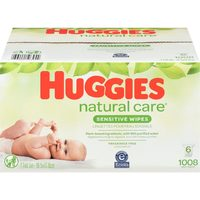 Pampers 14/15x or Huggies 16x Wipes