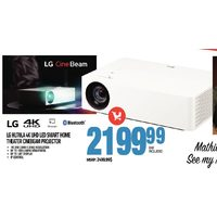 LG HU70LA 4K UHD LED Smart Home Theater Cinebeam Projector