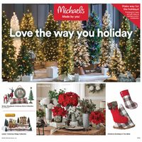 Michaels - Weekly - Love The Way You Holiday Flyer