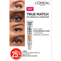 L'Oreal Paris True Match Makeup Products