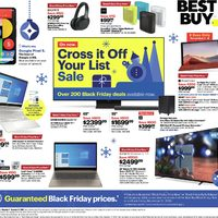 Best Buy - Weekly Deals - Cross It Off Your List Sale Flyer