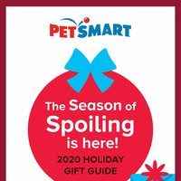 PetSmart - 2020 Holiday Gift Guide Flyer
