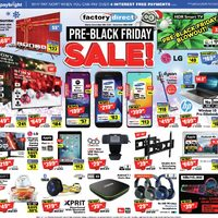 Factory Direct - Pre-Black Friday Sale! Flyer